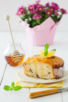 "Russian Monday: Lemon ""Keks"" - Lemon Tea Cake at Cooking Melangery"