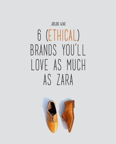 6 ETHICAL STORES YOU'LL LOVE AS MUCH AS ZARA | Fashion should be empowering, not exploitative. #ethicalfashion #fashionrevolution
