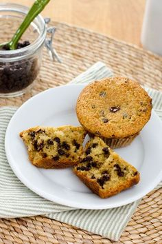 Chocolate chip muffins are quick and easy to make, and theyre gluten-free, grain-free, paleo-friendly and dairy-free. | cookeatpaleo.com