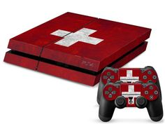 Switzerland Flag PS4 Skin