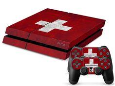 Switzerland Flag PS4 Skin