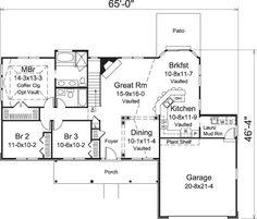 Kitchen Floor Plans Peninsula peninsula kitchen floor plans. peninsula. home plan and house