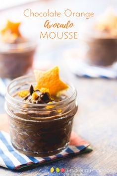 Chocolate orange avocado mousse is a delicious dessert for the whole family. Creamy avocado & banana are blended with sweet dates, orange juice & cacao. Great for kids. Hidden veggies.