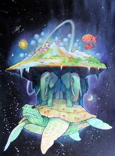 great A'Tuin by Dobrosav Bob Zivkovic!