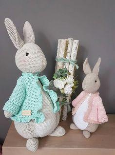 Bunny amigurumi. Rabbit amigueumi <3