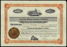 MA. Coca-Cola Bottling Company of Littleton. - Archives International Auctions