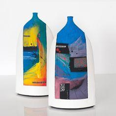 Jane Hollidge — cambridge contemporary art Ceramic Pinch Pots, Ceramic Bowls, Ceramic Decor, Ceramic Pottery, Coil Pots, Black And White Painting, Cambridge, Contemporary Art, Ceramics