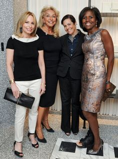Deborah Roberts (right) and friends.