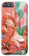 Orange Poppies Of Summer cell phone cover featuring the art of Carol Cavalaris