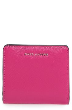 5afd08822327 MARC JACOBS Leather Billfold Wallet.  marcjacobs