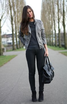How to style a Biker Jacket