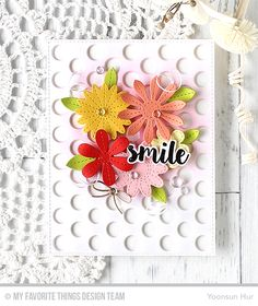 Hello crafty friends! Finally the beautiful Sensational Stitched Flowers Card Kit is available in the MFT Store now!! Sensational Stitched Flowers Card Kit All Occasion Sentiments Stamp Set Stitche…