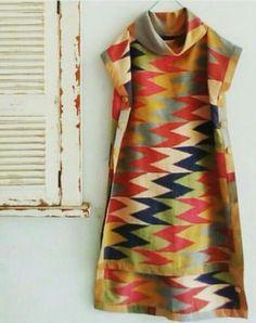 Batik Fashion, Abaya Fashion, Fashion Sewing, Ghanaian Fashion, African Fashion, Indian Fashion, Batik Kebaya, Batik Dress, Indian Attire