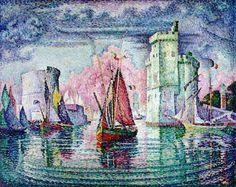 Le port de La Rochelle de Paul Signac