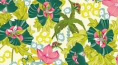 Sabine Reinhart, Lost in Paradise Collection, Amodini, Green Color Palette