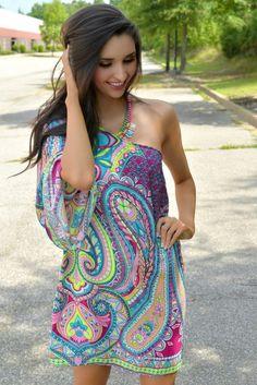 Paisley Print Cover-up. Hippie DressesBoho DressBoho Style DressesLatest  Winter FashionWomen s Summer ... 7636b3336bba