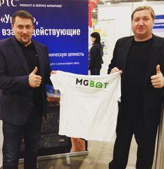 Представитель компании PTC и Генеральный директор MGBot #дружбанародов #ptc #mgbot #iot #молодыепрофессионалы2016 #нацфинал by mgbotru