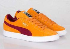 Puma Suede Classic – Bright Marigold – Pomegranate