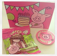 Percy pig party time Old M, Pig Party, 21st Birthday, Good Old, Percy Pigs, Party Time, Kitty, Happy, Party Ideas
