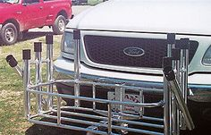 Rod Rack 10 Surf Mate Rod Holder Hitch Mount Fish N Mate by Angler's