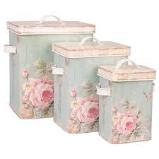 Set of 3 wooden shabby boxes vintage romantic countryside style – Shabby Chic Decor Ideas Shabby Chic Français, Cocina Shabby Chic, Shabby Chic Bedrooms, Shabby Chic Kitchen, Shabby Cottage, Shabby Chic Homes, Cottage Chic, Chabby Chic, Rose Cottage
