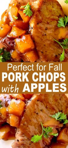 delicious honored apples enjoy chops using when have what pork time way and you of PORK CHOPS AND APPLES Pork Chops and Apples a delicious time honored way of using what you haveYou can find Pork recipes and more on our website Oven Pork Chops, Boneless Pork Chops, Baked Pork Chops, Pork Chops And Apples Crockpot, Pork Chop With Apples, Healthy Pork Chops, Crockpot Meat, Easy Pork Chop Recipes, Meat Recipes
