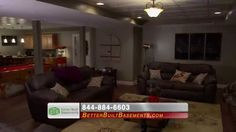 Better Built Basements: Scot Endorsement #1 :15How would you like to take your basement from unfinished to unbelievable? You can with the help of Better Built Basements! http:/www.betterbuiltbasements.com