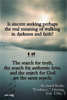 Sincere seeking