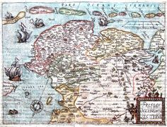 Frisia, Friesland-Groningen-Drente 1581 Guiccardini