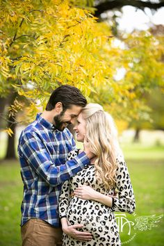 Fort Worth maternity photo ideas, bright colors, fall colors, happy couple, baby inspiration.  http://lightlyphoto.com