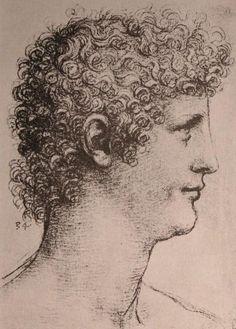 Leonardo Da Vinci-Zeichnung von Salai