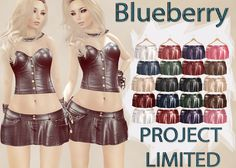 Blueberry Project Limited Leather Skirts | Flickr - Photo Sharing!