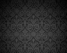 Vintage Dark Damask Pattern Vector Background - http://www.dawnbrushes.com/vintage-dark-damask-pattern-vector-background/