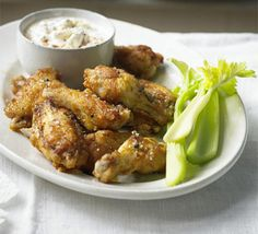 These American-style crisp chicken pieces are the perfect laid-back food to share, great for a movie night