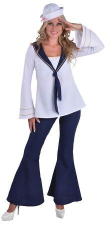 Fancy Dress Ball stock a great range of sailor fancy dress, sailor costumes, sailor outfit, sailor outfits, women's sailor fancy dress Sailor Fancy Dress, Fancy Dress Ball, Ladies Fancy Dress, Sailor Costumes, Dress Up Costumes, Girl Costumes, Costume Ideas, Marine Costume, Alaaf You