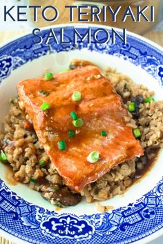 Keto Teriyaki salmon from Keto in Pearls is an EASY one-pot recipe. Fresh salmon is pan-seared and cooked in only 15 minutes for a delicious dinner. This low carb recipe is also lifestyle-friendly for those who must eat sugar-free and for diabetics. Try this keto teriyaki salmon for your family. Everyone will love it for a quick and easy dinner! #ketosalmon #ketosalmonrecipes #salmonrecipes #dinnerrecipes #ketorecipes #seafoodrecipes #salmon #fishrecipes Salmon Recipes, Seafood Recipes, Dinner Recipes, Asian Recipes, Dinner Ideas, Gluten Free Teriyaki Sauce, One Pot Meals, Easy Meals, Keto Salmon
