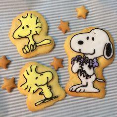 スヌーピーのアイシングクッキー