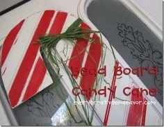 Beadboard candy cane. Love!