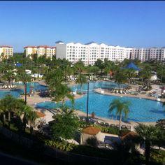 Www.faithnfitnesswithmandy.com vacation destination: blue green fountain resort - Orlando, Florida.