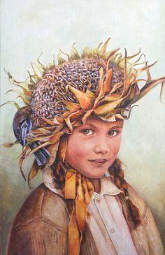 Bird Feeder (by Lori Preusch) [sunflower]