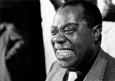 Louis Armstrong by Herman Leonard