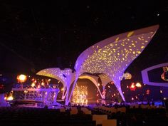 Award of Excellence for interior displays: MTV Video Music Awards Stage Set