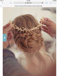 Beautiful hair jewelry