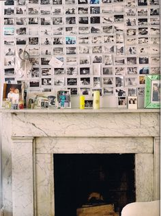 living with photos