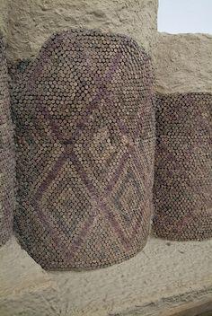 "Ancient Civilization Mesopotamia mosaics   Uruk, the ""Mosaic Court"" at the sacred 'House of heaven temple ..."