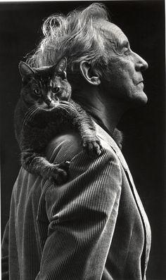Verner Aspenström. Photo: Michael Normann (1953-2013) [UPPSALA UNIVERSITY LIBRARY, BILD:6062]
