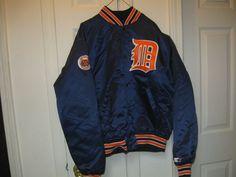 TIGERS 80'S STARTER SATIN JACKET(L)CUSTOMIZED! RARE! #Starter #DetroitTigers