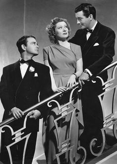 Lew Ayres, Robert Taylor and Greer Garson - Remember? (1939)