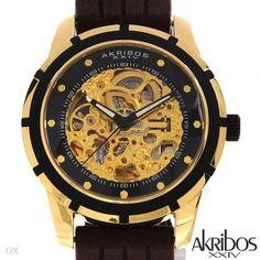 AKRIBOS XXIV AK444YG Automatic Movement Men's Watch - Akribos XXIV - Watches at Viomart.com