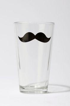 Monsieur Mustache Pint  #UrbanOutfitters